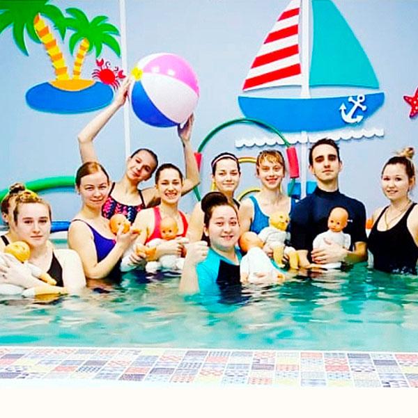 Более 120 тренеров по раннему плаванию